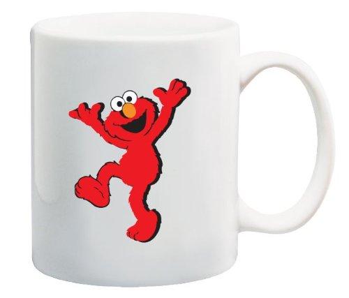 Muppet Elmo from Sesame Street Coffee Mug Classic Cartoon Souvenir 11 Oz.