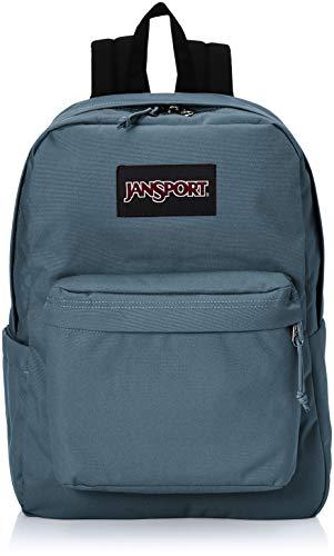 JanSport Superbreak Plus Backpack - School, Work, Travel, or Laptop Bookbag with Water Bottle Pocket, Dark Slate