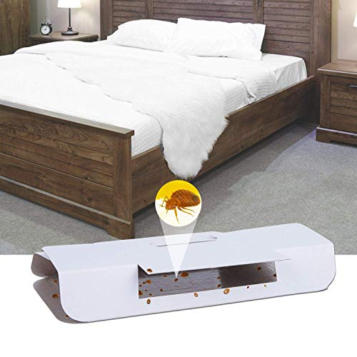 Stingmon 16 Pack Bed Bug Trap Killer, Bed Bug Detector, Safe and Non-Toxic