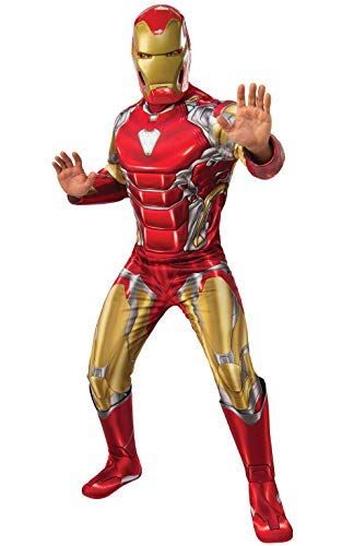 Rubie's Men's Marvel Avengers: Endgame Deluxe Iron Man (New) and Mask Adult Sized Costumes, As Shown, Extra-Large US