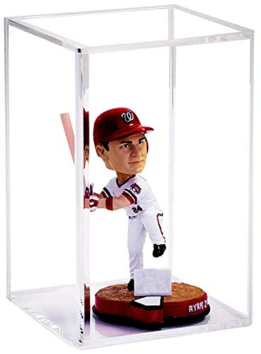 Better Display Cases Versatile Clear Acrylic Display Case 5.5' x 5.5' x 9.5' (A016-CB-TT)