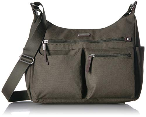 Baggallini New Classic'Heritage' Anywhere Large Hobo with RFID Phone Wristlet Olive One Size