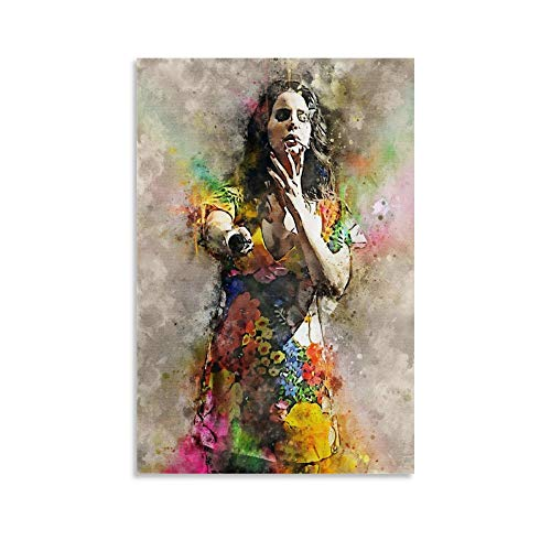 XIAOSHEN Lana Del Rey Poster Decorative Painting Canvas Wall Art Living Room Posters Bedroom Painting 24x36inch(60x90cm)
