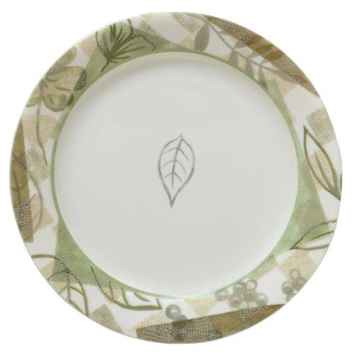 Corelle Impressions 7-1/4-Inch Salad/Dessert Plate, Textured Leaves