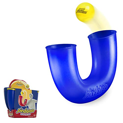 NSG Pindaloo - Juggling Toss-and-Catch Game Blue (Yellow Ball)