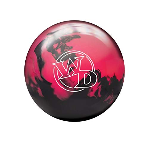 Bowlerstore Products Columbia 300 White Dot Bowling Ball - Pink/Black 15lbs