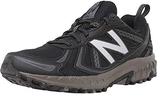 New Balance Men's 410 V5 Trail Running Shoe, Black/Thunder, 12 M US
