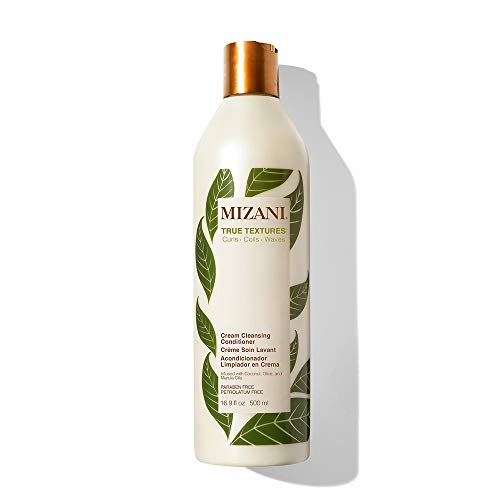 MIZANI True Textures Cream Cleansing Conditioner | With Coconut Oil | Paraben & Sulfate-Free | For Curly Hair| 16.9 Fl. Oz.