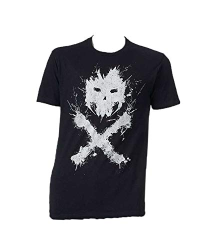 Marvel Captain America Civil War Crossbones T-Shirt Crew Neck Black Small