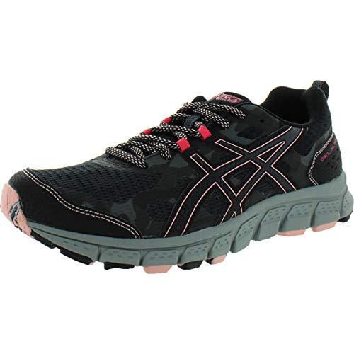 ASICS Gel-Scram 4 Trail Running Shoes - Women's, Black/Dark Grey, Medium, 8 US, 1012A039.001-8