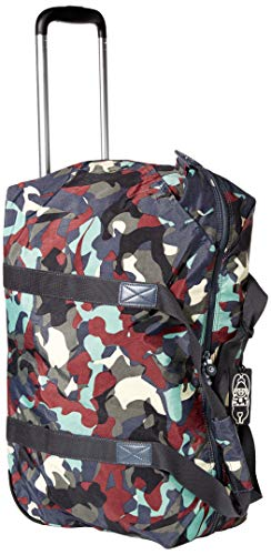 Kipling Art on Wheels Softside Rolling Tote Luggage, CAMO LEATHER, Medium 25-Inch
