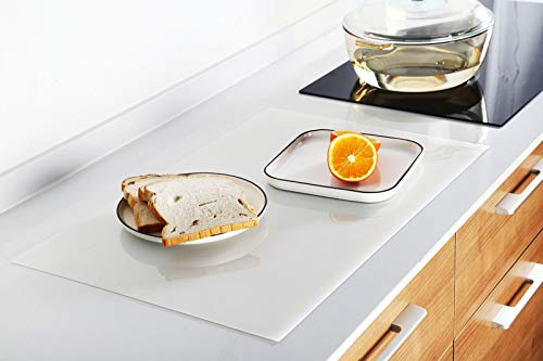 Silicone Mat, Countertop Protector, Thick (2MM) Extra Large (15.7x23.6 inches) Multipurpose Silicone, Heat Resistant Nonskid Table Pad