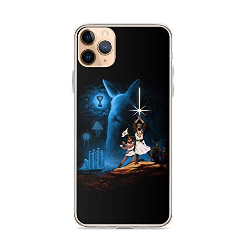 Monty Python Holy Grail Rabbits Clear Shockproof Cases Cover Compatible for iPhone 11