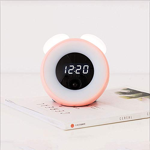 Smart Mute Rechargeable Bedside Personality Fun Alarm Clock Luminous Learning Butler