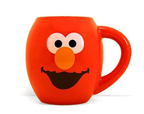 Elmo 18 oz Oval Coffee Mug