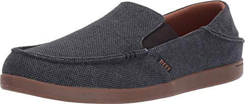 Reef Cushion Matey Shoes, Fashionable and Comfortable Slip On Shoes for Men, Navy/Gum, Size 8