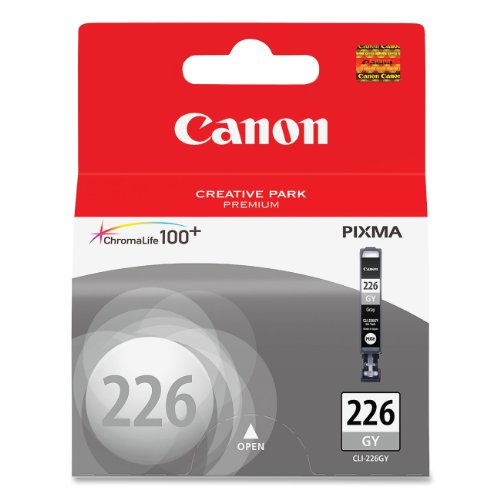 Canon CLI-226 Gray Ink Tank Compatible to MG8120, MG6120, MG8220, MG6220 (CNMCLI226GY)