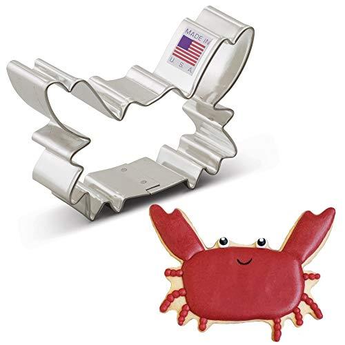 Ann Clark Cookie Cutters Crab Cookie Cutter, 3.5'