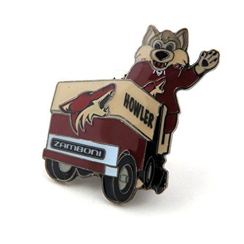 Jf Sports Phoenix Coyotes Mascot on Zamboni Lapel Pin