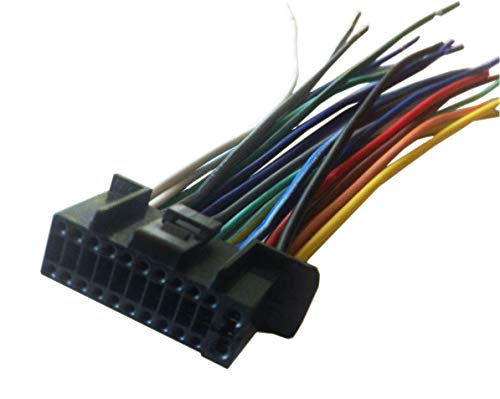 22 Pin Auto Stereo Wiring Harness Plug for Kenwood KT-CHR300 Player