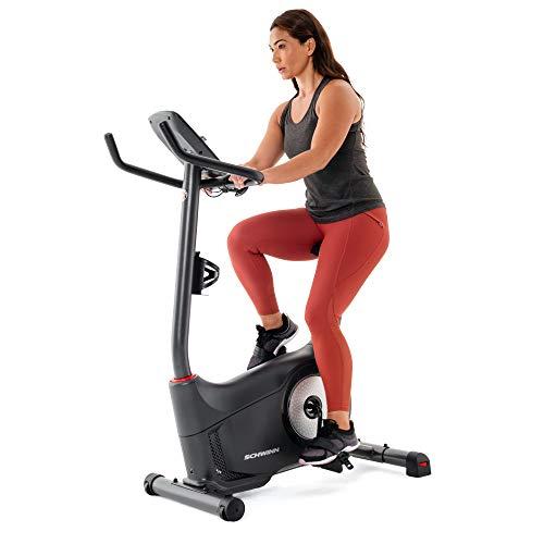 Schwinn Fitness 130 Upright Bike (Model Year 2020), Black