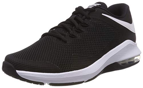 Nike Air Max Alpha Trainer Mens Running Trainers AA7060 Sneakers Shoes (UK 7 US 8 EU 41, Black White 001)