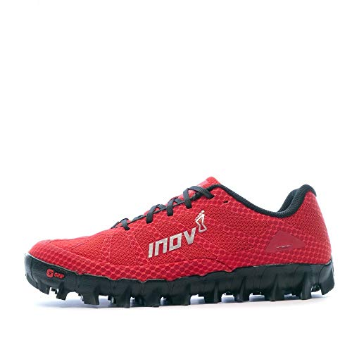 Inov-8 Mudclaw 275 - Trail Running OCR Shoes - Soft Ground - for Obstacle, Spartan Races and Mud Running - Red/Black - 11