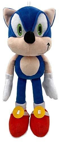 tenhu electronic Hedgehog Plush Figure Doll Plush 12' Sonic The Hedgehog Doll Soft Stuffed Plush Pillow Toy (Sonic The Hedgehog)