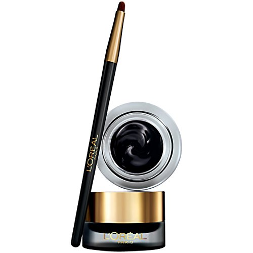 L'Oreal Paris Infallible Lacquer Eyeliner, Blackest Black (Packaging May Vary)