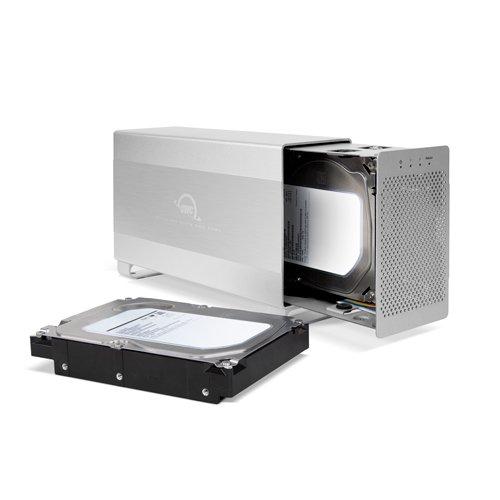 OWC 8.0TB Mercury Elite Pro Dual Desktop RAID Storage Solution, USB 3.0/FireWire 800