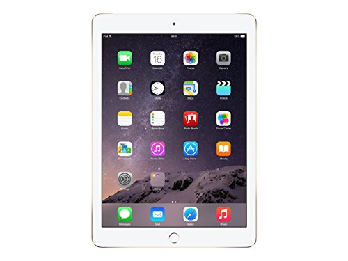 Apple iPad Air 2 MH2W2LL/A (16GB, Wi-Fi & Cellular) Gold (Renewed)