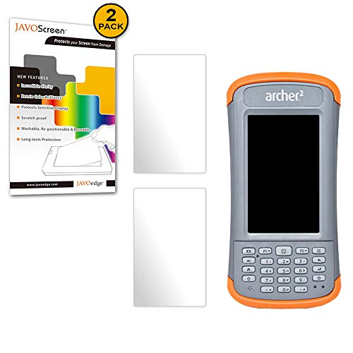 JAVOedge Juniper Systems Archer 2 (24092), [Ultra Clear] Screen Protector (2 Pack) - Defensive Armor from Scratches