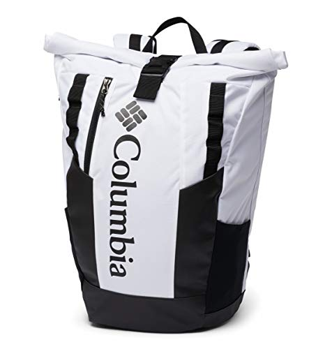 Columbia Unisex Convey 25L Rolltop Daypack, White, One Size