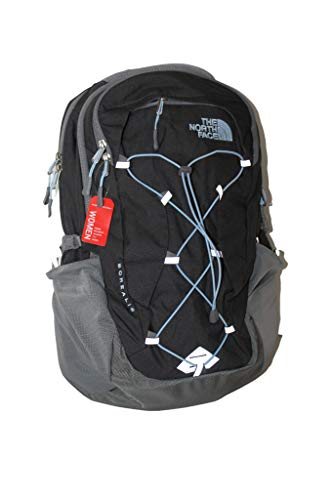 The North Face Women's Borealis Backpack 15' Laptop (grey heather powder blue)