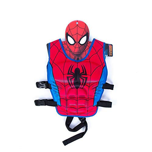 KLTOYS Kids Swim Vest Life Jacket,Spiderman (M Code)