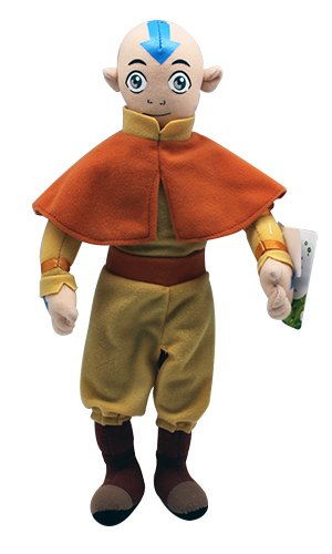 12' Aang Plush Bendable Poseable Doll Toy From Avatar the Last Airbender