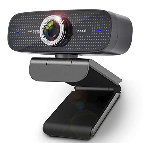 Webcam for Xbox One and Twitch Streaming HD 1080P PC Camera with Microphones Compatible for MacBook Windows and OBS Twitch YouTube