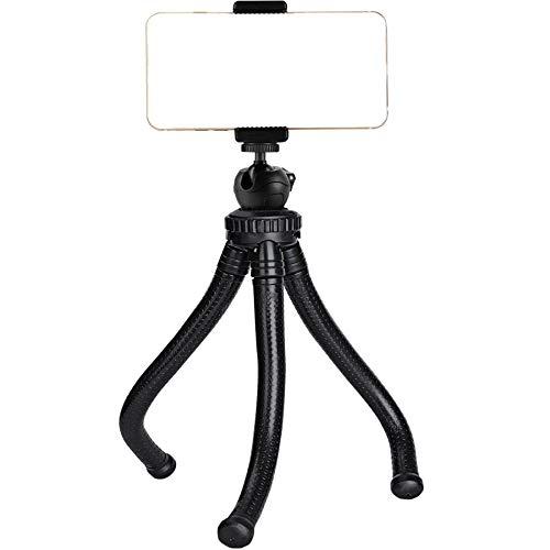 Ailun Phone Tripod Mount Stand Camera Holder for iPhone 12/12 Pro/12 Mini /12 Pro Max iPhone 11/11 Pro/11 Pro Max/Xs XR Xs Max 8 7 Plus 6s Digtal Camera, Black