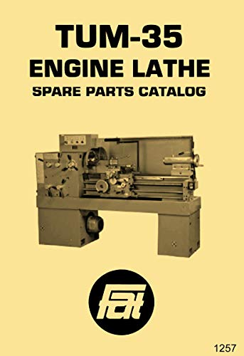TUM-35 Polamco, Toolmex, Famot, AFM Metal Lathe Parts & Wiring Diagram Manual