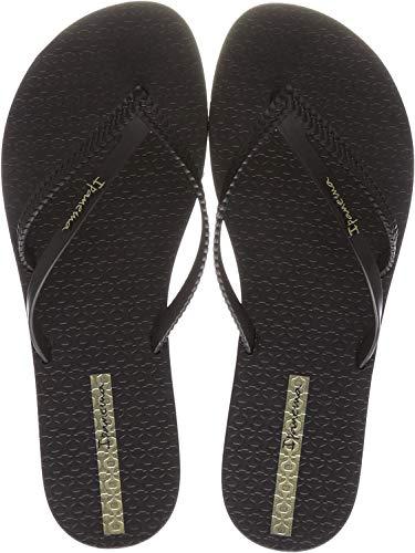 Ipanema Women's Flip Flop Sandals Flip Flops , Multicoloured Black 3 , 7 US