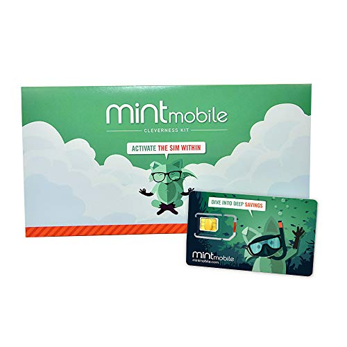 $30/Month Mint Mobile Wireless Plan   Unlimited Talk, Text & Data for 3-Months (3-in-1 GSM SIM Card)