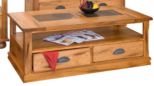 Sunny Designs Sedona Coffee TBL w/Drawers & Casters