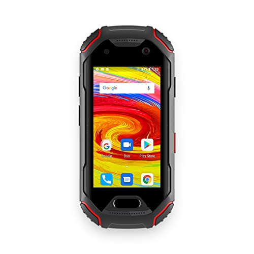 Unihertz Atom, The Smallest 4G Rugged Smartphone in The World, Android 9.0 Pie Unlocked Smart Phone with 4GB RAM and 64GB ROM