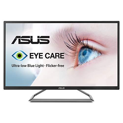 ASUS 32' 4K HDR Monitor (VA32UQ) - UHD (3840 x 2160), 95% DCI-P3, Speaker, Eye Care, Adaptive-Sync/FreeSync, Shadow Boost, Blue Light Filter, Flicker Free, DisplayPort, HDMI, Tilt Adjustable