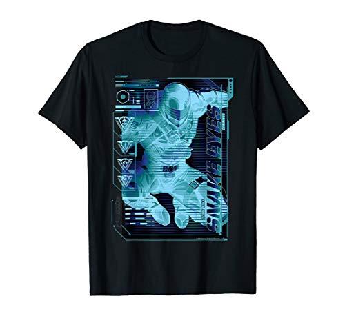 G.I. Joe Snake Eyes Schematic T-Shirt