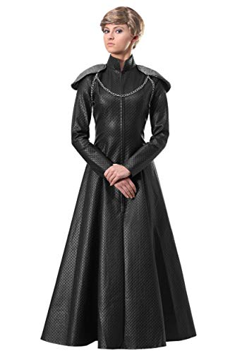 Women's Lion Queen Costume Lion Queen Armor Gown Costume for Women Large Black
