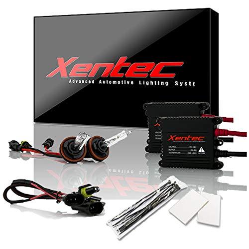 Xentec H11 (H8/H9) 8000K HID xenon bulb x 1 pair bundle with 2 x 35W Digital Slim Ballast (Light Blue)