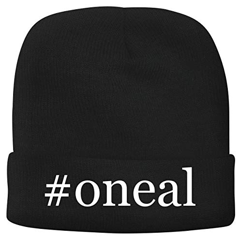 BH Cool Designs #Oneal - Men's Hashtag Soft & Comfortable Beanie Hat Cap, Black, One Size