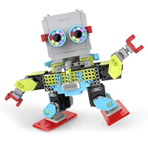 UBTECH Jimu Robot MeeBot 2.0 App-Enabled Building and Coding STEM Robot Kit (390 pcs)