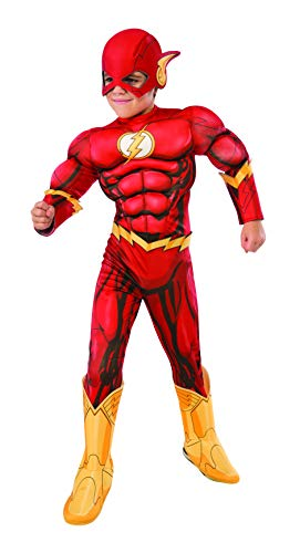 Rubie's Costume DC Superheroes Flash Deluxe Child Costume, Small